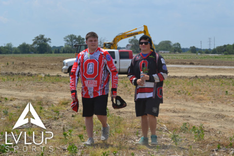 Ohio State Paintball Team at LVL UP Sports