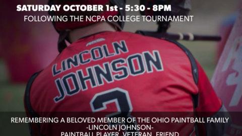 Lincoln Johnson Memorial Paintball Event