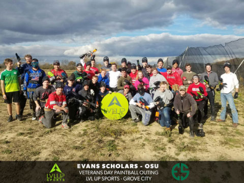 Evans Scholars Paintball Outing