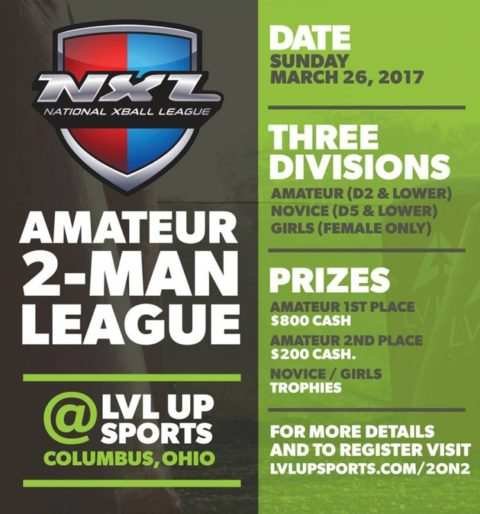 NXL 2 on 2 Event at LVL UP Sports – Columbus, Ohio