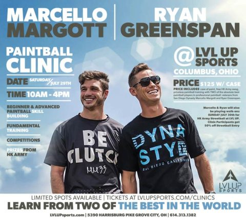 Paintball Clinic by Margott and Greenspan
