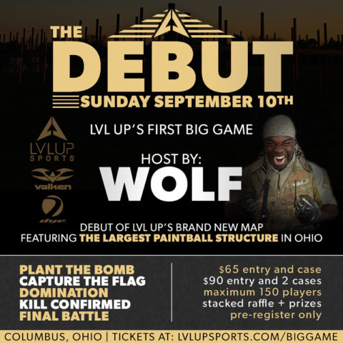 "BIG GAME – ""The Debut"" – September 10th, 2017"