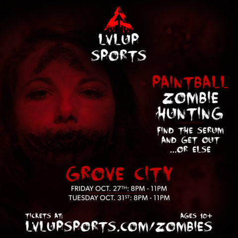 Paintball Zombie Hunting at LVL UP Sports