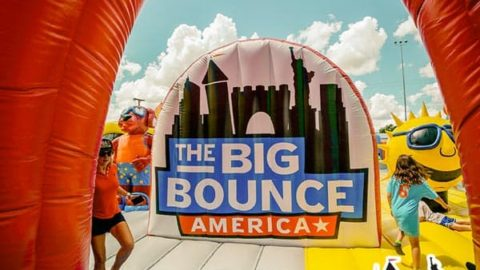 The Big Bounce America, Worlds Largest Bounce House Oct 5-7
